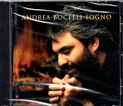 Andrea Bocelli - Sogno-CD  -Brand New-Still Sealed
