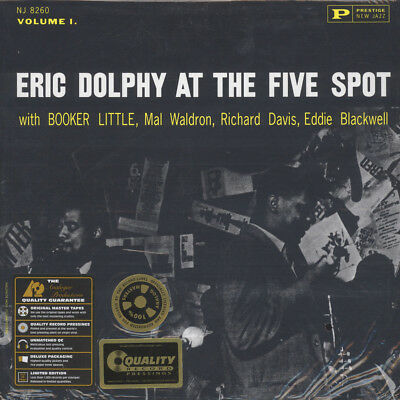 Eric Dolphy - At The Five Spot (Vinyl LP - 1961 - US - Reissue)