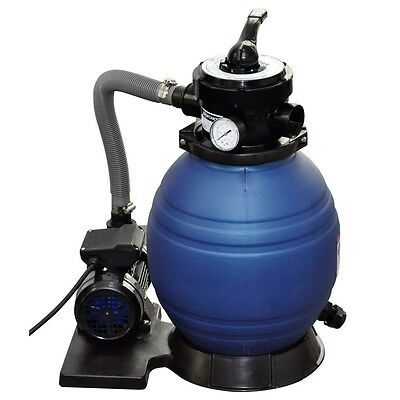 2243gal Flowclear Swimming Pool Sand Filter Cleaner Pump 400W Valve Above Ground