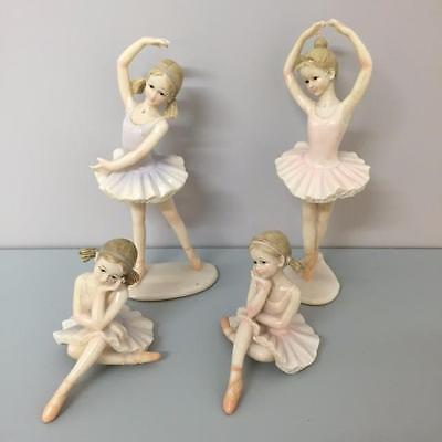New DELICATE BALLERINA MODEL Sitting or Standing - Pink or Lavender - Home Decor