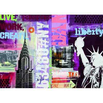Puzzle 1000 Pezzi Ravensburger 19613 Collage New York City