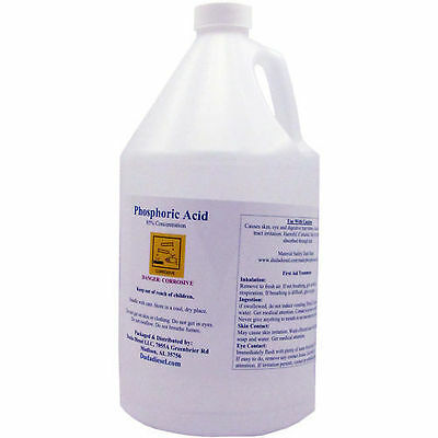 1 Gallon of 85% Food Grade Phosphoric Acid
