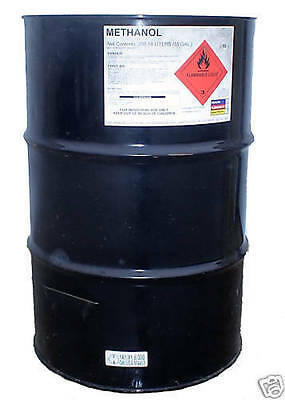 55 Gallon Drum of Methanol For Producing Biodiesel