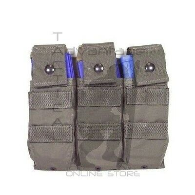 BAE Systems ECLiPSE 5.56 Triple Magazine MOLLE Pouch Panel - ranger green V1