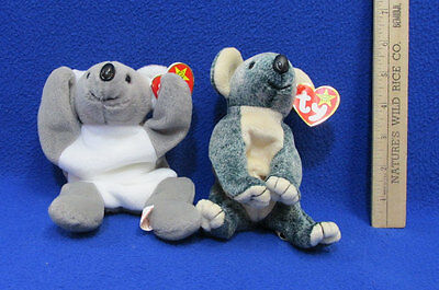 cb874aa203e TY Beanie Babies Plush Original Stuffed Animal 1996 Mel 1999 Eucalyptus Lot  2