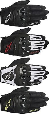 Alpinestars SMX-1 Air Leather Street Motorcycle Gloves Mens All Sizes & Colors