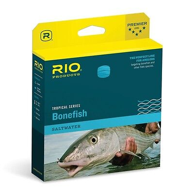 RIO Bonefish QUICKSHOOTER Fly Line Sand/Blue Fly Fishing Weight Forward Floating