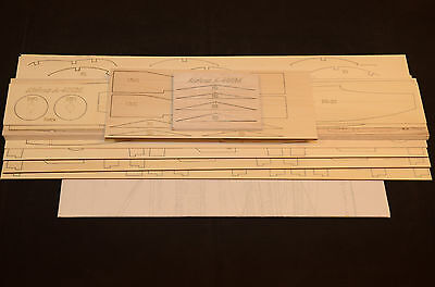 """Large Scale AIRBUS A-400M Laser Cut Short Kit & Plans 76"""" WS Electric Power"""