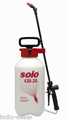 "Solo 430-2G Pressure Sprayer  ""Farm and Garden"" - 2 Gallons"