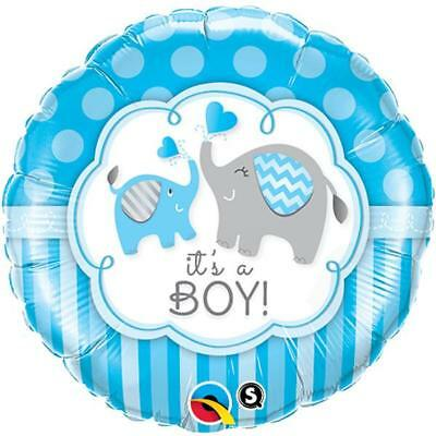 Its a Boy Elefanten Qualatex 45.7cm Folien Ballon