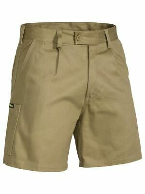 NEW Work Shorts Pack of 3 BISLEY MENS COTTON DRILL WORK SHORTS BSH1007