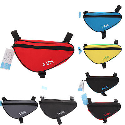 Cycling Bike Bycicle Frame Pack Pannier Front Tube Triangle Bag Saddle Pouch Bag