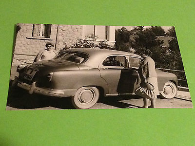 Viintage Photo - Seat 1400 - Foto Antigua Coche Car No Fiat - Barcelona Licence