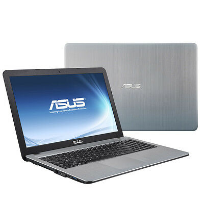 Notebook ASUS F540LA Intel i3-4005U 500GB 4GB - Intel HD4400 - silber - USB 3.1