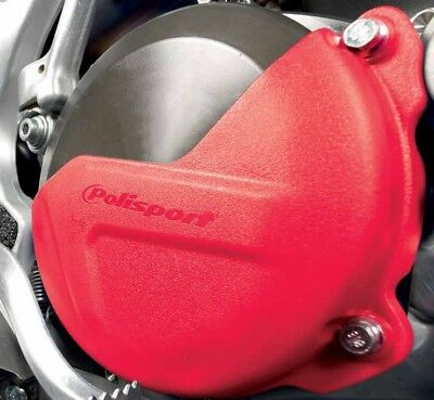Polisport Clutch Cover Protector For Honda CRF 450 R 10-15 Red