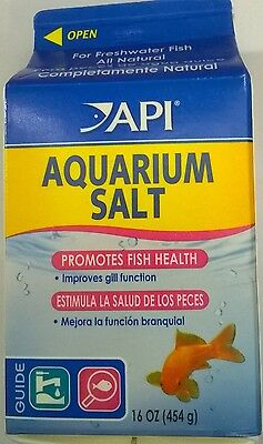 API AQUARIUM SALT 454g (16oz)  0317163011065