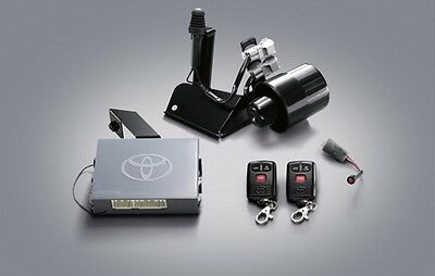 Alarms Security Set Genuine For Toyota Yaris 2014 Come With Manual