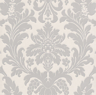 TAPETE BAROCK Ornament Rasch Pure Vintage beige creme 449020 (2,59 ...