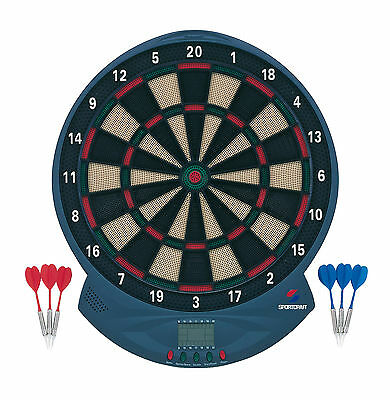 Soft Tip Electronic Dartboard With 6 Darts
