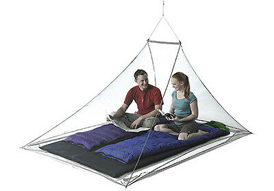 Sea To Summit Nano Mosquito Pyramid Net Double Lightweight Motorcycle Camping
