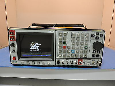 Aeroflex IFR-1600S Service Monitor Communications Analyzer - FM/AM-1600S, 1600S