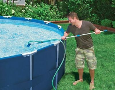 Pool Maintenance Kit w Pole and Vacuum Cleanen Swimming Spa Water Cleaning Set