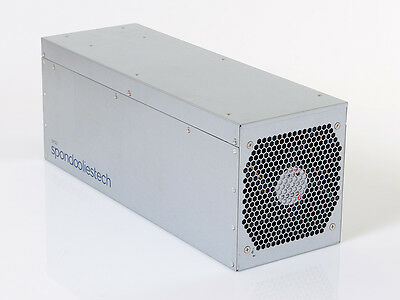 Spondoolies SP20 1.7TH/S & HP DPS-1200 Power Supply - Bitcoin BTC ASIC Miner