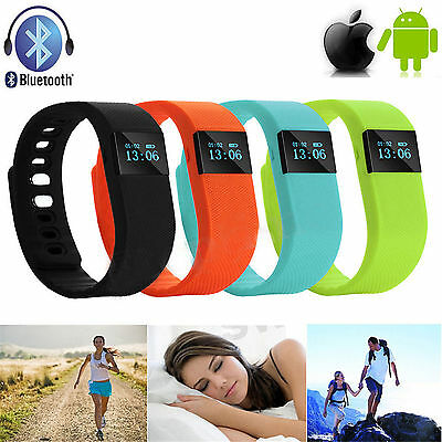 TW64 OLED Watch Bluetooth Wristband Activity Sleep Health Bracelet Fitness  #1