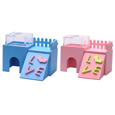 Multifunction Pet Small Animal hamster's colorful toys house bed villa toy New