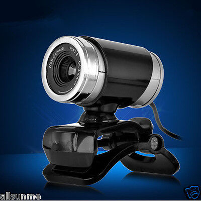 Universal 360° USB 50MP HD Webcam Web Cam Camera for Computer PC Laptop Desktop