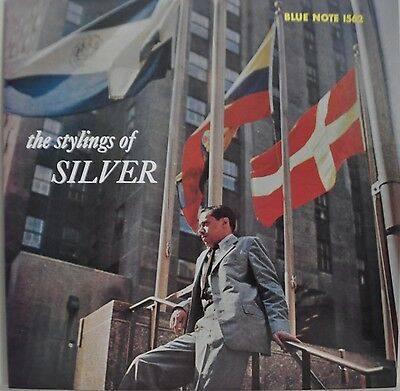 The Stylings Of Horace Silver Japan Blue Note LP Toshiba BLP 1562 Insert
