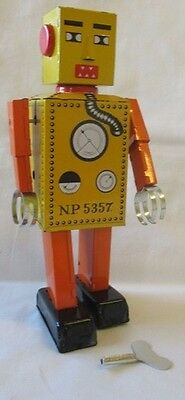 341007 Doctor Djangos Lilliput Robot Tin Wind Up Toy Metal Great Gift Idea Boxed