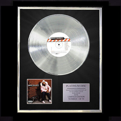 Missy Elliott Under Construction  Cd Platinum Disc Vinyl Lp Free Shipping To Uk