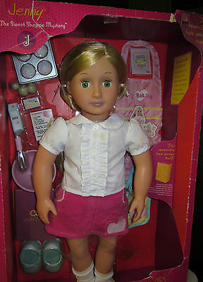 NEW Our Generation Jenny - Baker Doll with Storybook