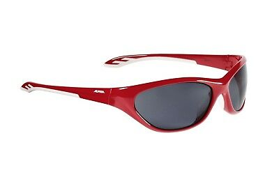 Alpina Flexxy Youth Junior Sportbrille - white matt red iW5m8