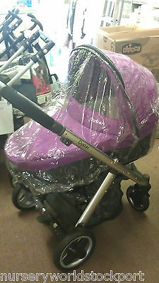 DELUXE PVC RAINCOVER RAIN MAMAS /& PAPAS SOLA PUSHCHAIR WITH ZIP ACCESS £17.99