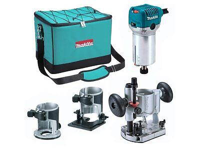 Makita RT0700CX2 110v Router / Trimmer with Extra Bases