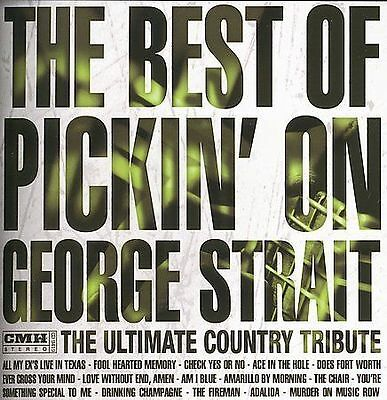 NEW Best of Pickin on George Strait: Ultimate Country (Audio CD)