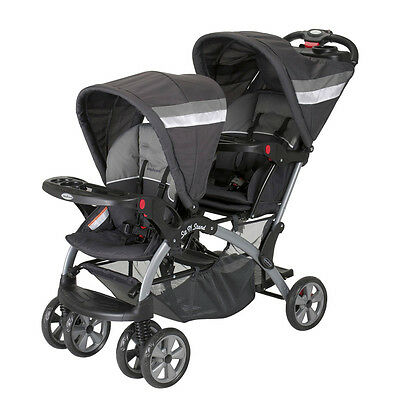 Baby Trend Sit N Stand Double Twin Baby Toddler Stroller, Liberty | SS76711