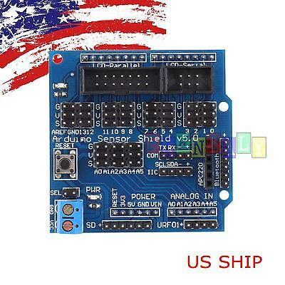 Sensor Shield Digital Analog Module Servo Motor for Arduino UNO R3 MEGA V5 SV2