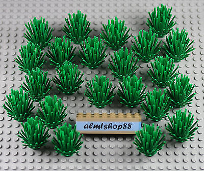 LEGO - Plant Prickly Bush Green 2x2x4 - Forrest Shrub Foliage Christmas Bulk Lot