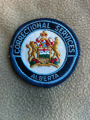 Obsolete Alberta Correctional Services Patch
