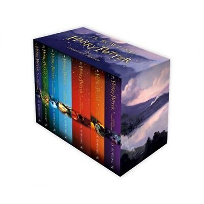 The COMPLETE Harry Potter Collection J.K Rowling 7 Books Box Set Gift NEW