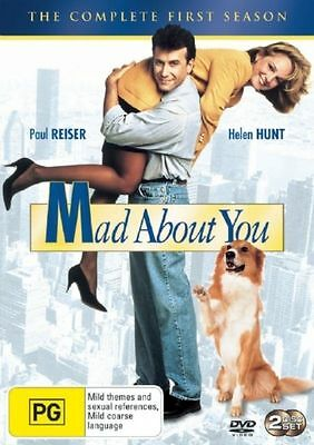 Mad About You The Complete First Season 2-Disc Region 4 DVD Brand New Sealed