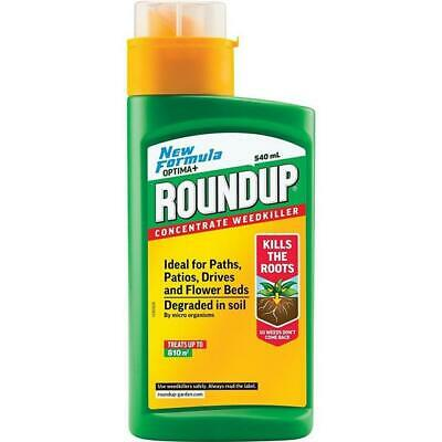ROUNDUP Optima Weedkiller 540ml Weed Killer Liquid Concentrate