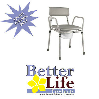 FATHERS DAY $ BUY ! Height Adjustable Commode - BLP-VR161G Essex  Chair