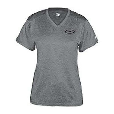 Storm Practice Tee Steel Grey WOMENS Bowling Shirt
