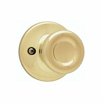 Kwikset 200m 3 Cp Mobile Home Hall And Closet Knob, Polished Brass