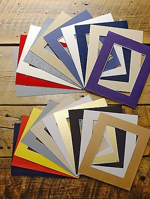 Set of 20 8x10 Picture Mats / For 5x7