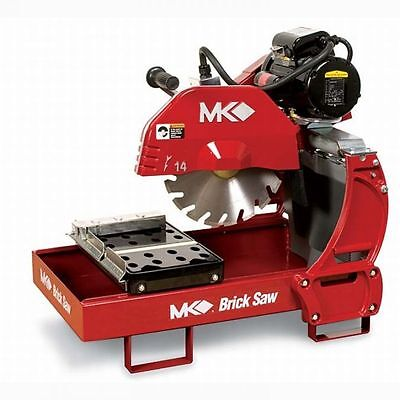 "MK Diamond MK-2000 14"" Electric Brick & Block Saw w/Baldor 1.5 HP Motor 23474"